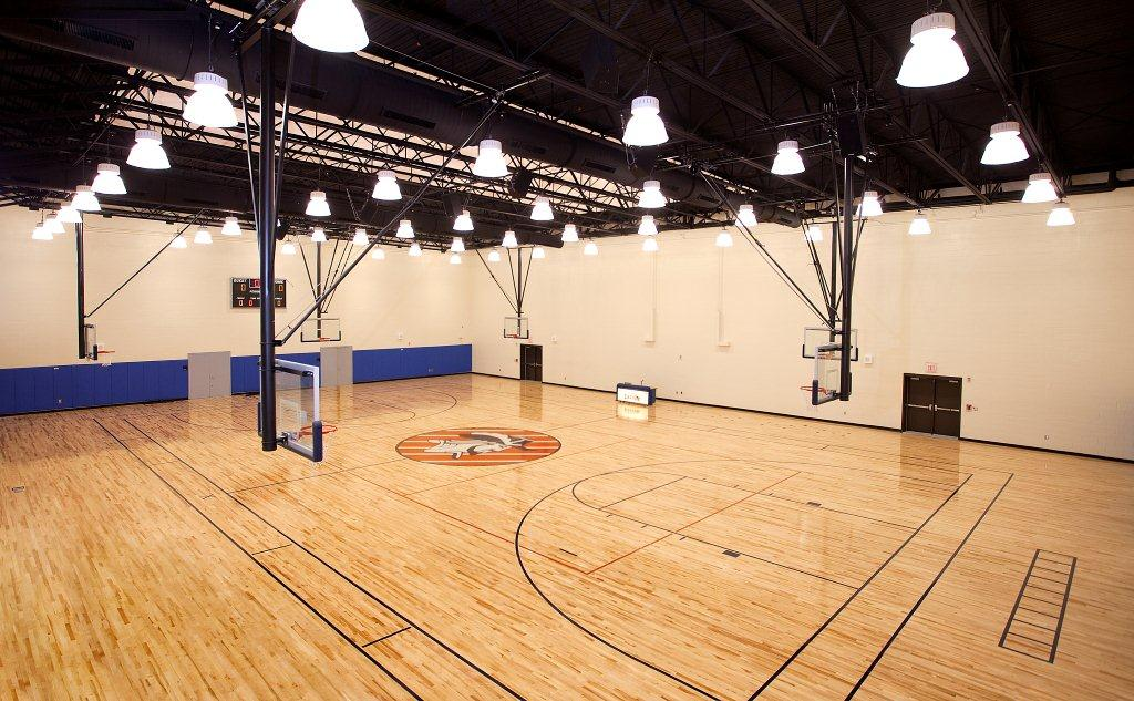 Richland NE High School - Gymnasium