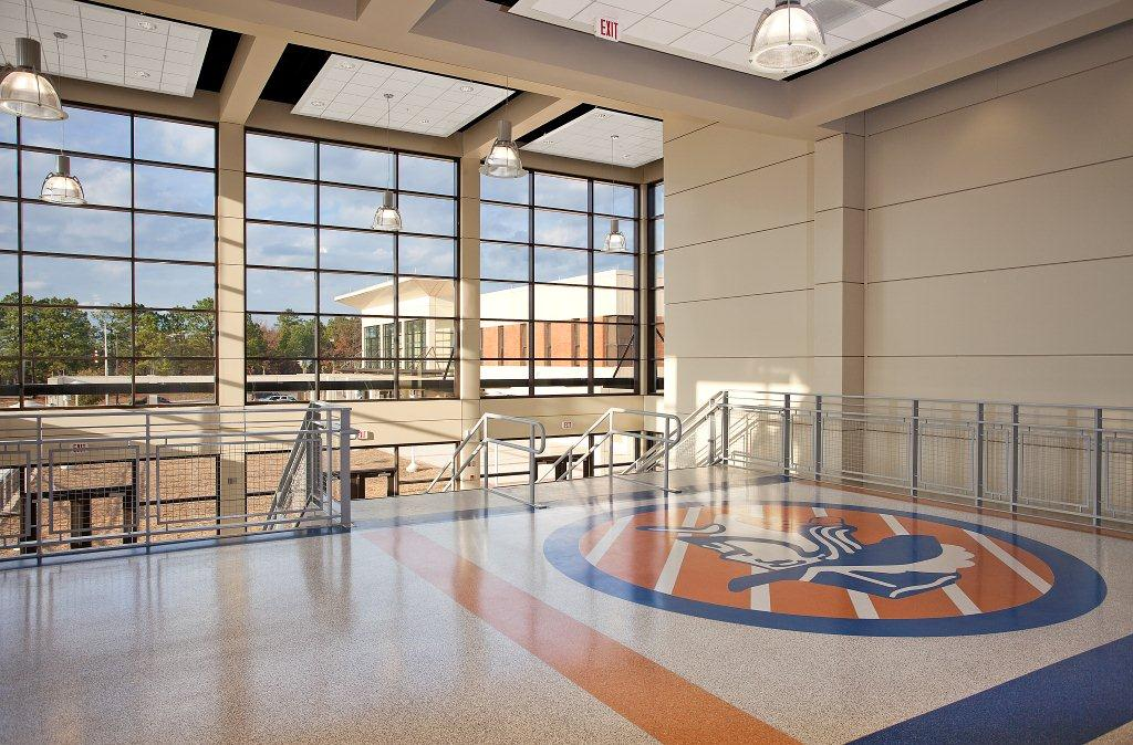 Richland NE High School -Atrium 1